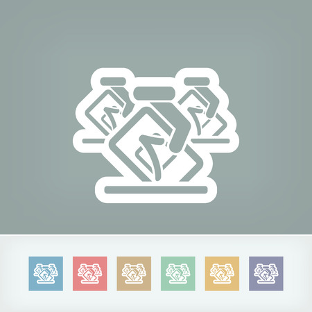 Vote concept icon Vector