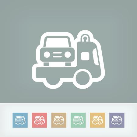 Wrecker icon Vector