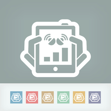 Tablet connection icon