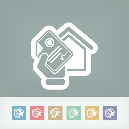 Home document icon Vector