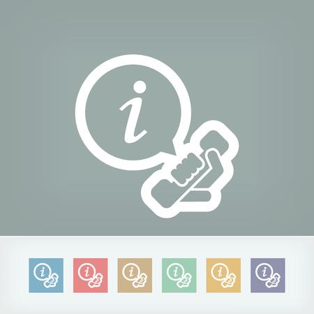 data centers: Infoline icon