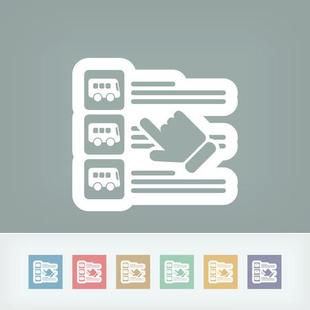 pullman: Bus booking list