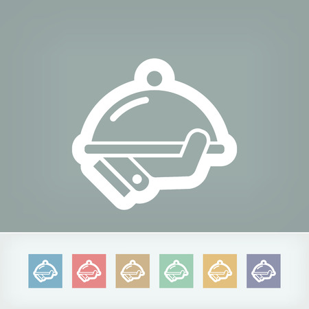 Waiter icon Vector