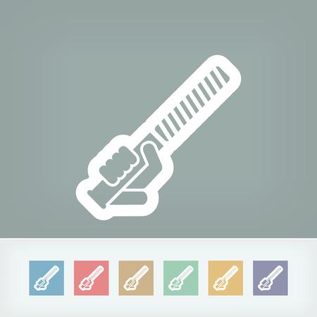 bricolage: Rasp icon