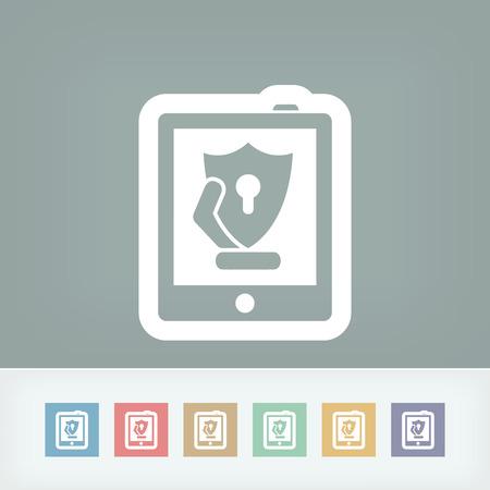 alter: Tablet safety Illustration