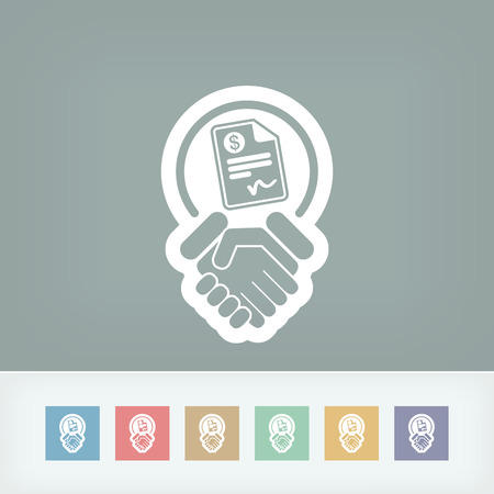 reconciliation: Conciliation payment icon