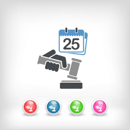 Date of judgment Vector