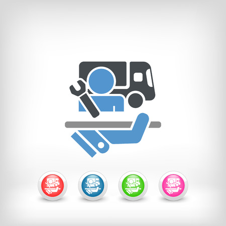 Top quality cargo assistance Vector