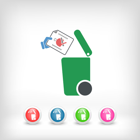 meats: Separate waste collection icon