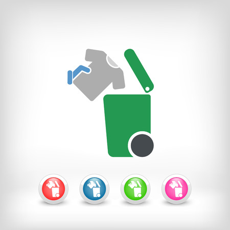 refuse: Separate waste collection icon