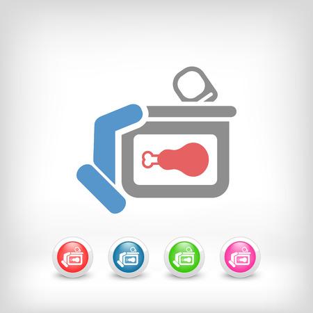 preservatives: Alimentos enlatados