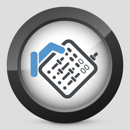 Mixer audio icon Vector