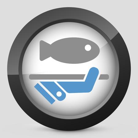fish vendor: Fish icon