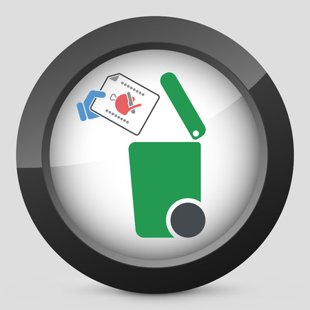 cold cuts: Separate waste collection icon