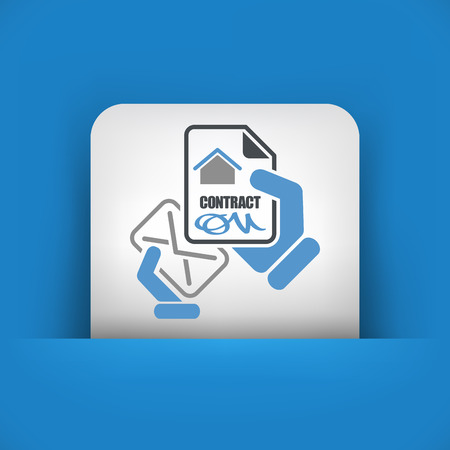 House contract Vector