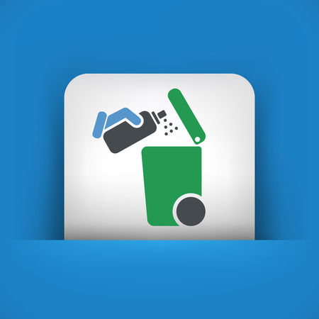 segregation: Separate waste collection icon