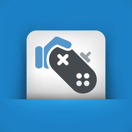joy pad: Video game icon