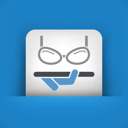 Eyeglasses shop Vector