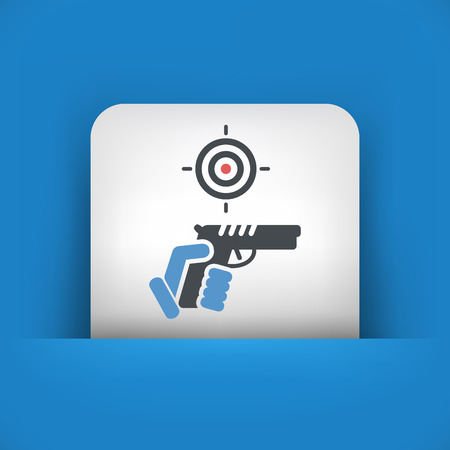 gun license: Gun icon