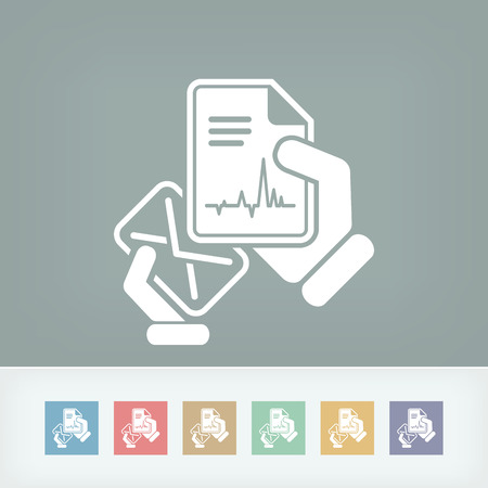 diagnosing: Mail with a medical document