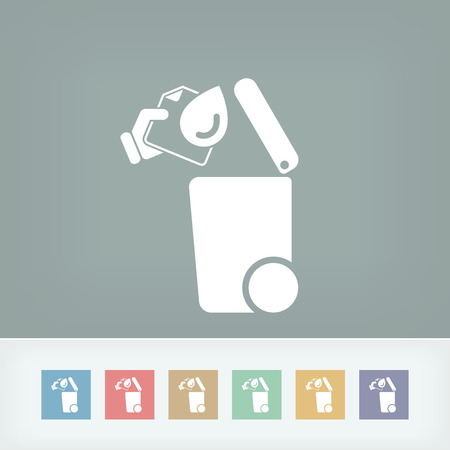 absorb: Separate waste collection icon