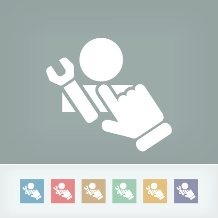 Assistance icon Vector