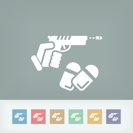 gun license: Gun icon