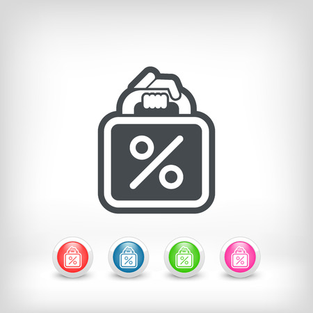 selloff: Shopping bag