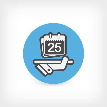 planner: Date planner icon