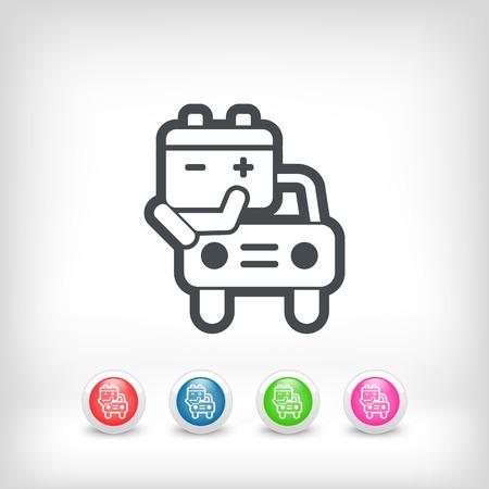 electrics: Car battery