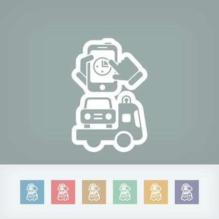 Fast car assistace Vector