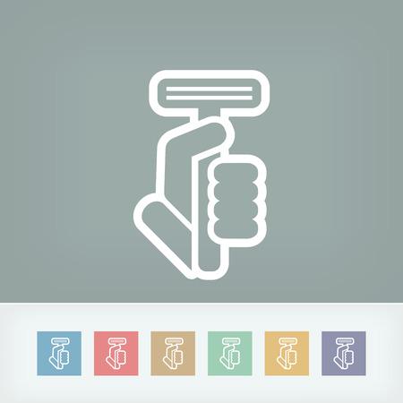 shaver: Razor icon