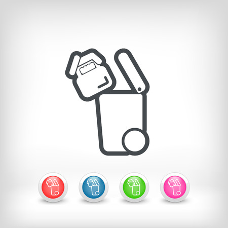 pane: Separate waste collection icon