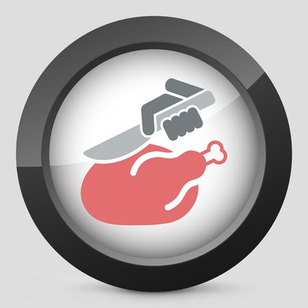 bumpkin: Meat icon