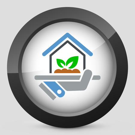 Indoors garden icon