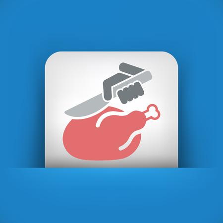 manservant: Meat icon