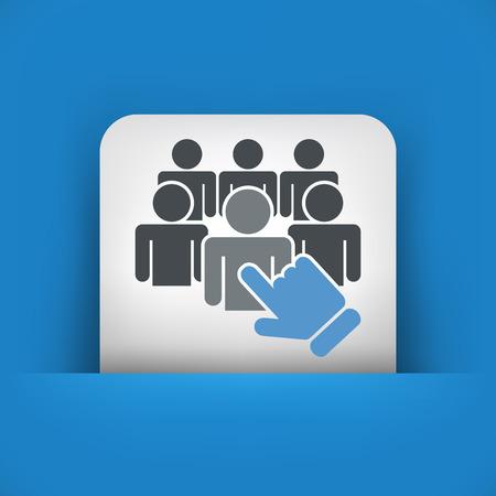 kiválasztás: Személyzet kiválasztása icon