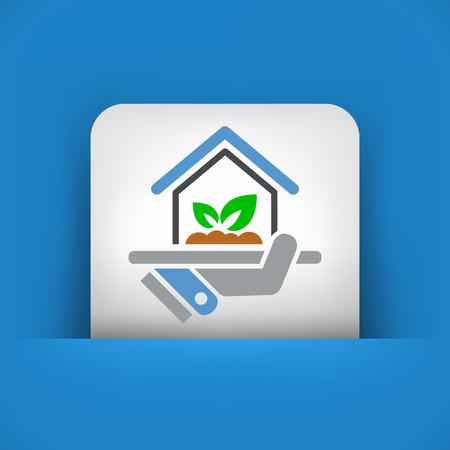indoors: Indoors garden icon