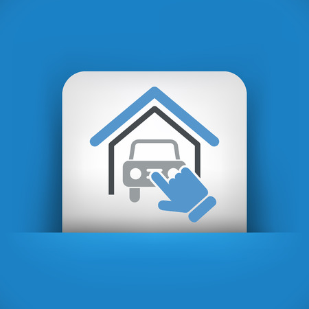 shed: Car service icon