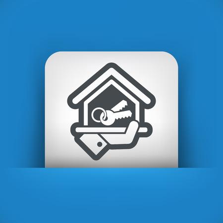 apartment suite: House icon