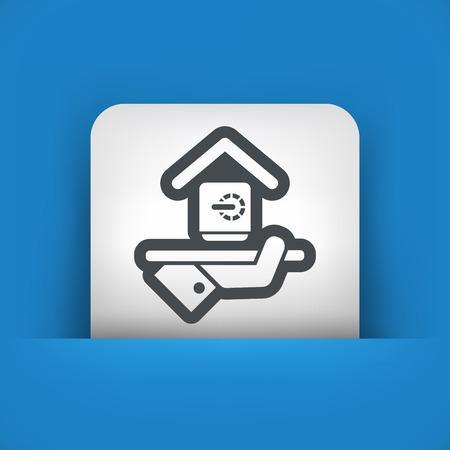strongbox: Hotel icon. Strongbox service.