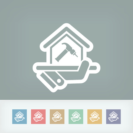 do it yourself: Home repair icon Illustration