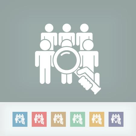 Cherchez personne Banque d'images - 36642771