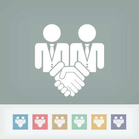 dressy: Icono Acuerdo corporativo