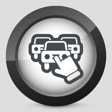 Fahrzeugauswahl-Symbol