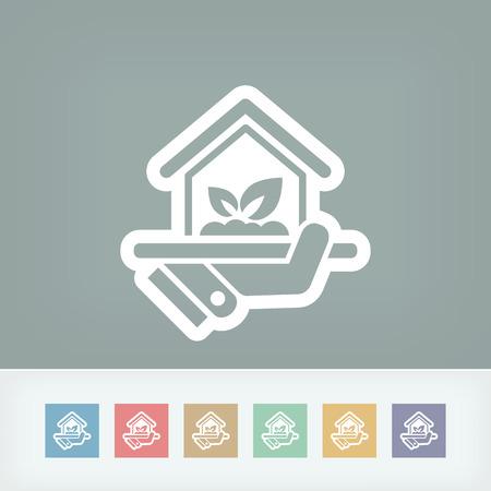realestate: Indoors garden icon
