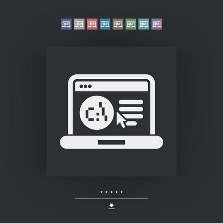 operative: Software language webpage icon
