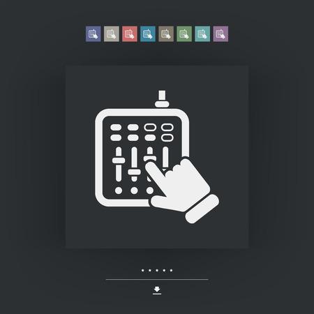 deejay: Mixer audio icon