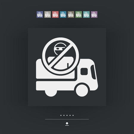 safekeeping: Security transport icon