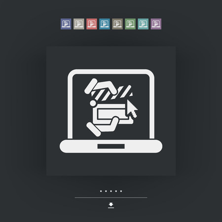 clapboard: Clapboard computer icon